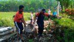 Pasca Banjir, TNI-Polri dan Muspika Bungatan Gelar Karya Bakti