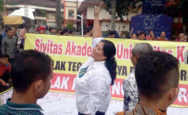 Konflik Unikama, Christea Tetap akan Lantik Rektor Baru