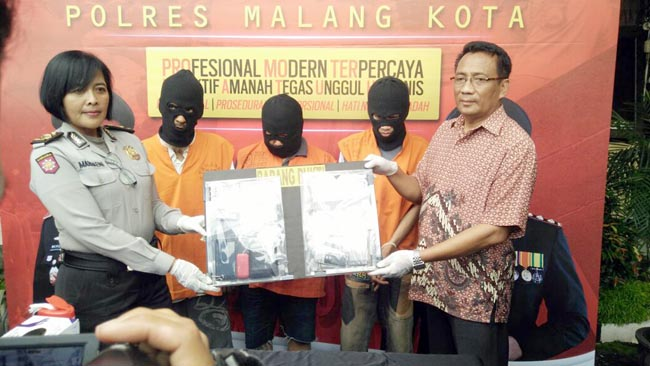 Pengedar  SS Muharto Ditangkap