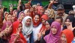 Puti Guntur Soekarno Kunjungi Lumajang