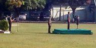 Jajaran TNI Di Mojokerto Upacara Sumpah Pemuda Di Lapangan Cikaran