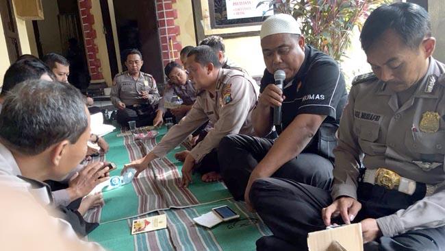 Jelang Pilkades, Polsek Tanggulangin Gelar Doa Bersama
