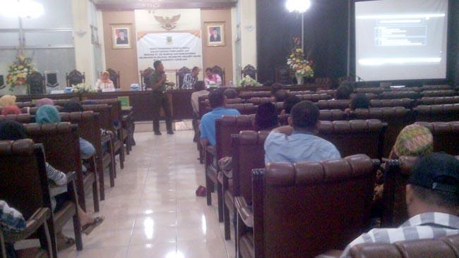 Kasdim 0815 Hadiri Rakor Penanganan Konflik Sosial Jelang Pemilukada Kota Mojokerto