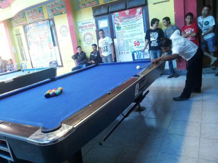 Atlet Biliard Nusantara Rebutkan Hadiah Total Rp 108 juta dari Pobsi Batu