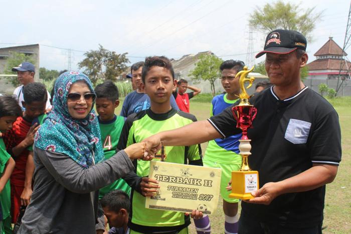 Kecamatan Pesantren Gelar Kompetisi Sepakbola Antar Kampung