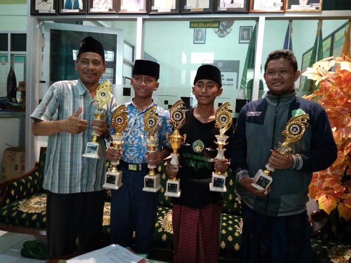 5 Siswa Mts Assa'adah 1 Juara Pencak Silat Tingkat Jatim