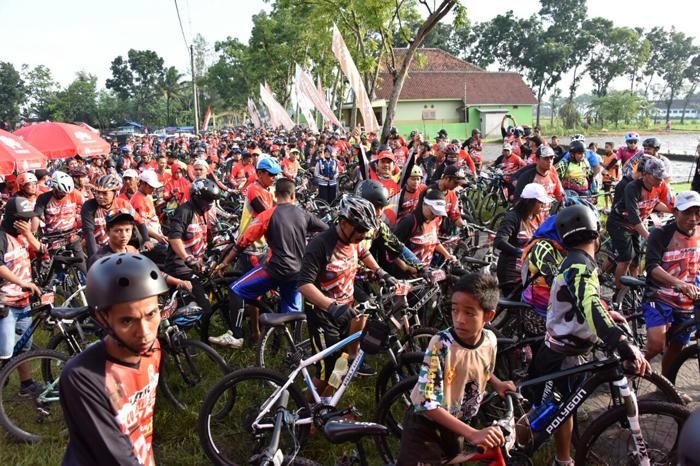 2300 Peserta Ramaikan Event GGRS Lumajang