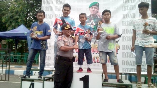 Putra Probolinggo, Rasya 96 Sukses di Kelas 125 CC MP6 dan MP5 di Ajang Dandim Cup Road Race 2018