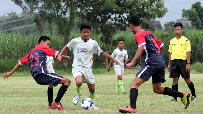 PSSI Kota Kediri Gelar Kompetisi U-15 Piala Soeratin 2018