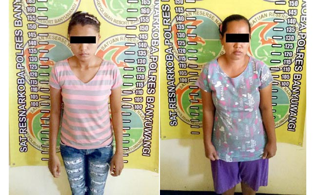 Duo Perempuan Edarkan Narkoba di Banyuwangi, Polisi Sita Ekstasi dan 15 Gram Sabu
