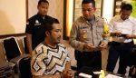 Penghina Nabi Muhammad Tertangkap di Trawas Tampak Lesu