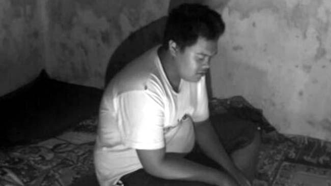 Gila Kumat, Anak Cekik Ibu Kandung di Singosari