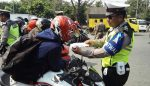 Operasi Ranmor, Polres Gresik Sidangkan Langsung Puluhan Pengendara
