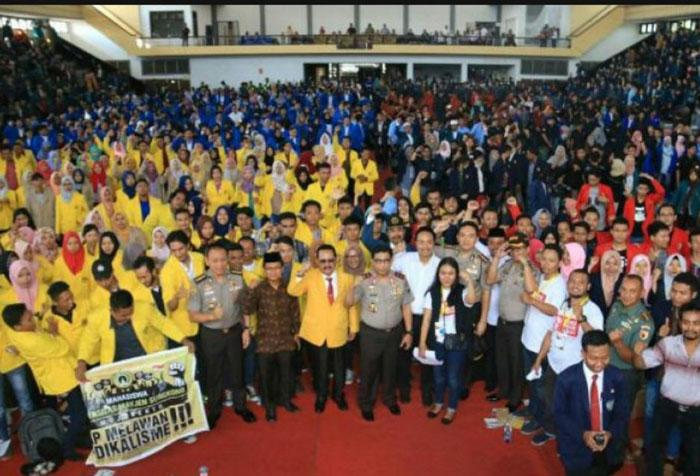 Kapolda Jawa Timur Narasumber Kuliah Akbar Lawan Radikalisme