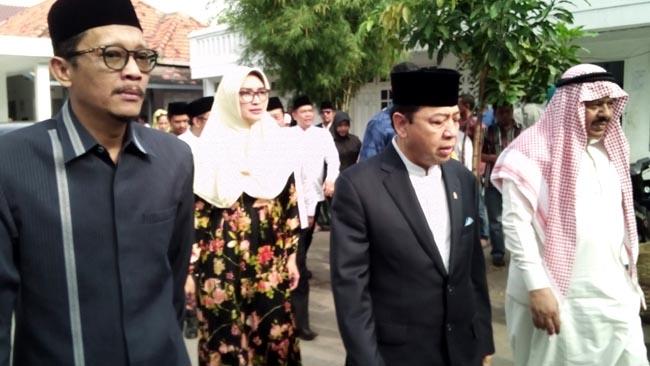 Safari Setya Novanto Kunjungi PP Syach Abdul Qodir Jaelani Kabupaten Probolinggo