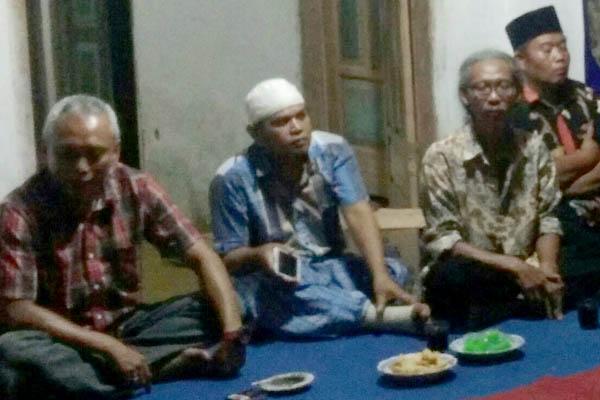 Reses Politisi Partai PDIP  Arif Wibowotampung Aspirasi Wartani