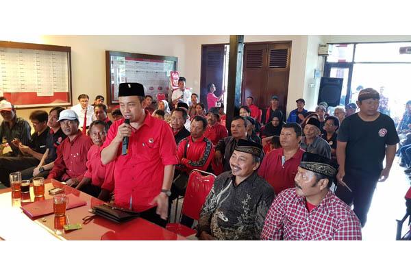 Ahmad Wanedi Daftar Wakil Walikota Malang ke PDI Perjuangan
