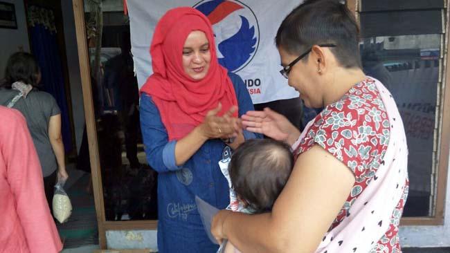 Nelly Semakin Melekat di Hati Masyarakat, Baksos Perindo Kota Malang Berkelanjutan