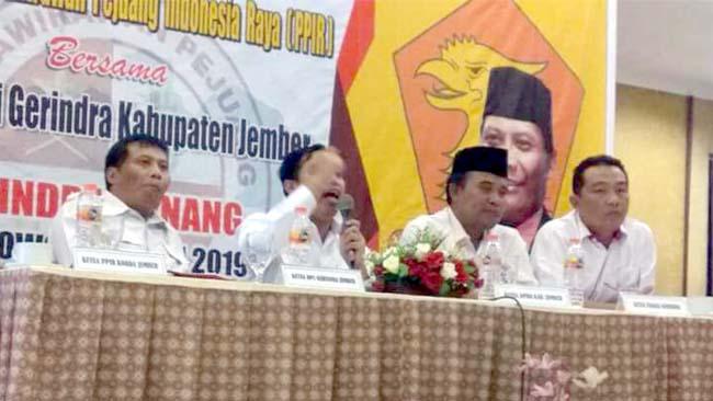 PPIR Jember Siap Menangkan Prabowo di Pilpres 2019