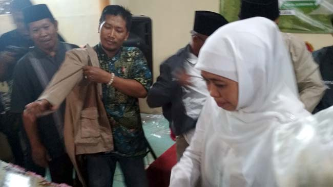Khofifah Hadiri Deklarasi Dukungan LMDH Lumajang Situbondo Probolinggo