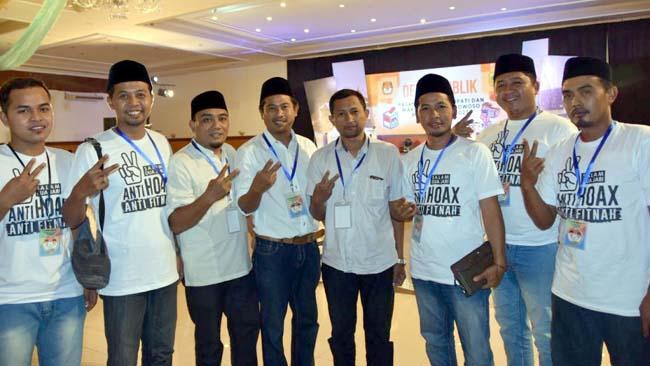 Relawan Dhafir-Dayat Komitmen Kampanye Pilkada Anti Hoax