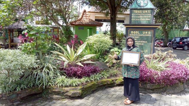 SMPN Gurah 2 Raih Penghargaan Adiwiyata Tingkat Nasional