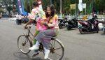 Rayakan Kelulusan, Murid SMA Konvoi Sepeda Pancal Lalu Corat-coret Seragam