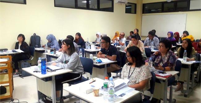 Suasana peserta pada sesi workshop acara Brevet Basic Veterinary Ophthalmology. (mgub)