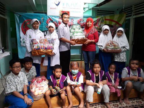 Asa Kepedulian, Siswa SD Al Muslim Bersafari Sosial ke YKAKI