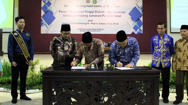 UM Resmikan Pusat Halal LP2M, Dukung Wisata Halal Kota Malang