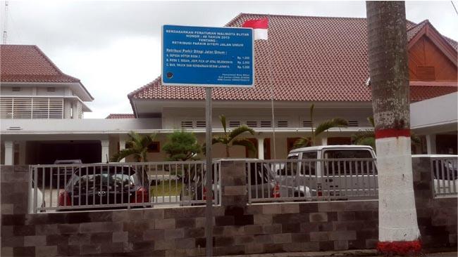 Tarif  Parkir Baru Kota Blitar Berlaku 1 November