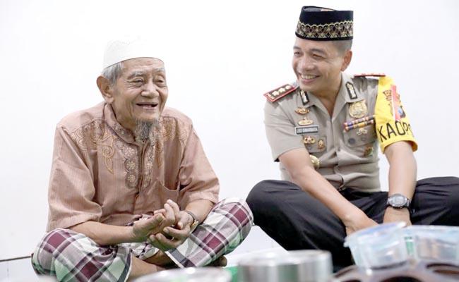 Jaga Kondusifitas Sitkamtibmas Pilgub Jatim, Kapolres Mojokerto Gandeng Ulama