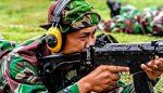 Latbakjatri Kodim Probolinggo dilaksanakan di Lapangan tembak Batalyon Kostrad