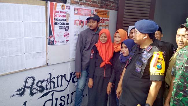 Kapolda dan Pangdam Brawijaya Sidak Pengamanan Pilkada di Probolinggo Kota