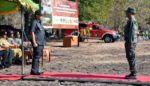 Bupati Situbondo Pimpin Apel Konsolidasi Pengendalian Kebakaran Hutan dan Lahan di TN Baluran