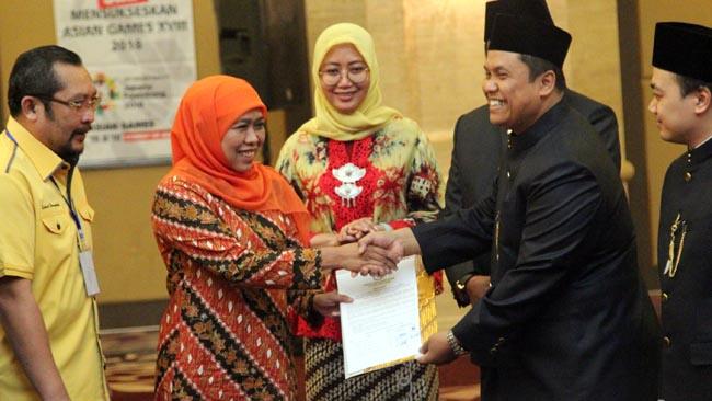 Penetapan Gubernur-Wakil Gubernur Terpilih Tanpa Gus Ipul-Puti