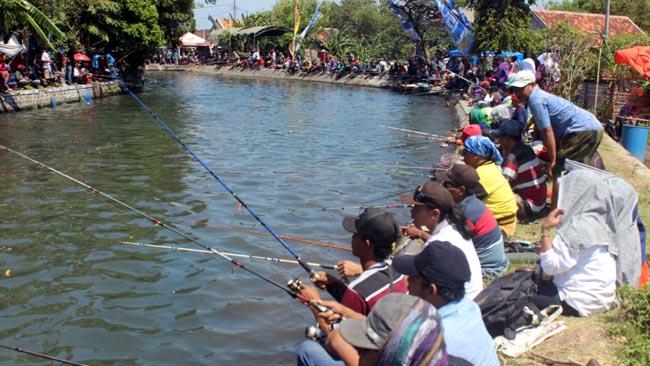 Pemancing Mania Meriahkan Piala Dandim 0820/ Probolinggo