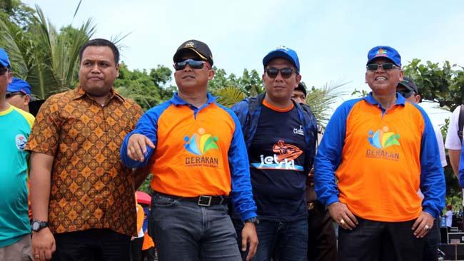 Bupati Malang dan Dandim 0818 Buka Exhibition Jet Ski di Pantai Ungapan