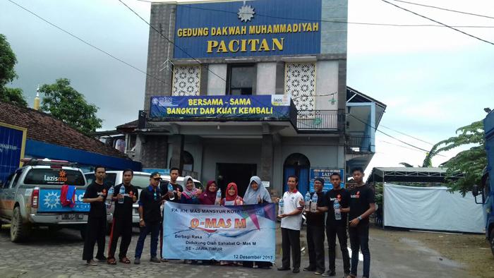 Donasi Sahabat Q-Mas Dipastikan Tersalurkan ke Korban Bencana Longsor Pacitan