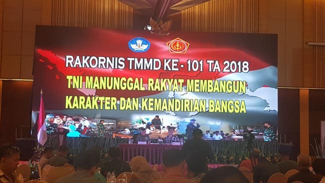 Dandim Situbondo Hadiri Rakornis TMMD ke 101 TA 2018