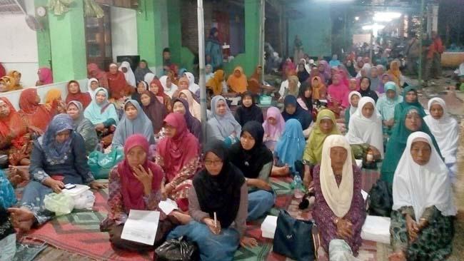 Danramil 0815/01 Prajurit Kulon Hadiri Haul di Ponpes Nurul Huda