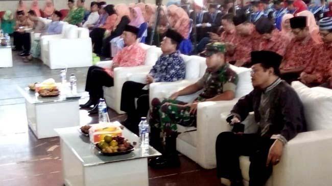 Pererat Silaturahim,  Dandim Mojokerto Hadiri Wisuda Purnawiyata Yayasan Nurul Huda