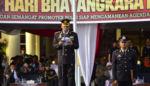 Upacara Bhayangkara ke-72 di Polres Situbondo Dihadiri Stake Holder