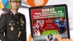 Kapolresta Ajak Nobar Final Piala Dunia 2018 Sambil Ngurus SIM dan SKCK