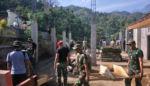 Tak Kenal Libur, Satgas TMMD Mojokerto Tetap Berkarya Membangun Desa