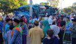 1.272 Jamaah Haji Kediri Diberangkatkan