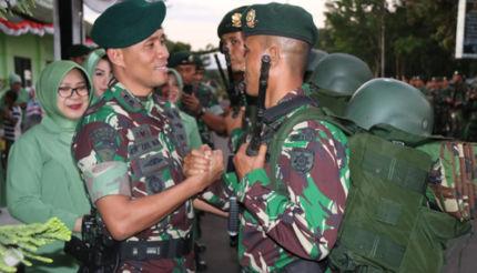 Satgas Pam Rahwan Raider 509 Amankan 226 Pucuk Senpi