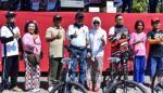 Meriahkan Kemerdekaan RI ke-73, Polres Situbondo Gowes bersama Pelajar , TNI dan Forkopimda