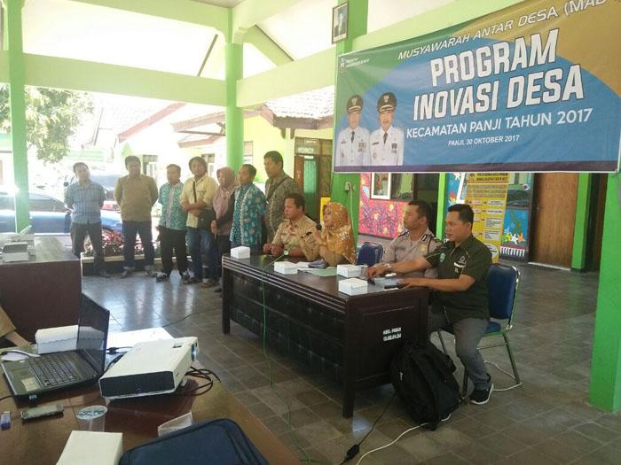 Kecamatan Panji Gelar Sosialisasi Program Inovasi Desa saat Musyawarah Antar Desa 1