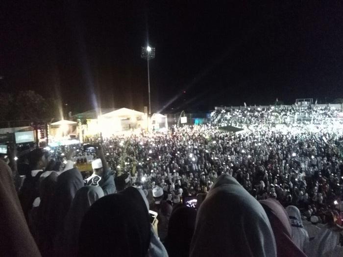 Ribuan Masyarakat Hadiri Banyuwangi Bersholawat